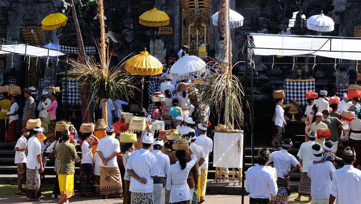 Die Zeremonien auf Bali