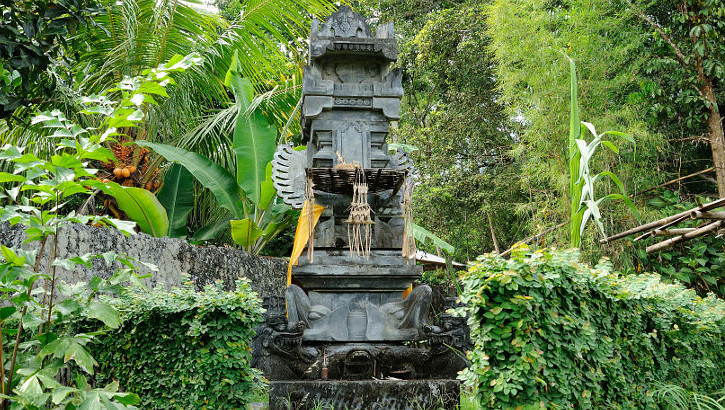 Religion und Gartenkultur auf Bali