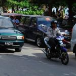 Strassenverkehr in Indonesien