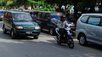 Verkehrskollaps in Jakarta