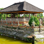 Die Gerichtshalle Kerta Gosa in Klungkung, Bali