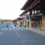 Der Flughafen Ngurah Rai in Denpasar, Bali