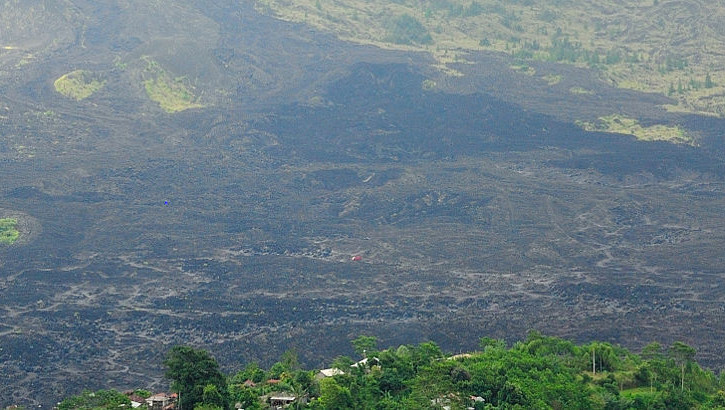 Vulkanausbruch - Indonesien