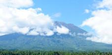 Der Vulkan Gunung Agung im Osten Balis