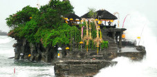 Der Tempel Pura Tanah Lot, Südbali