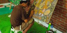 Maler in Ubud, Zentralbali