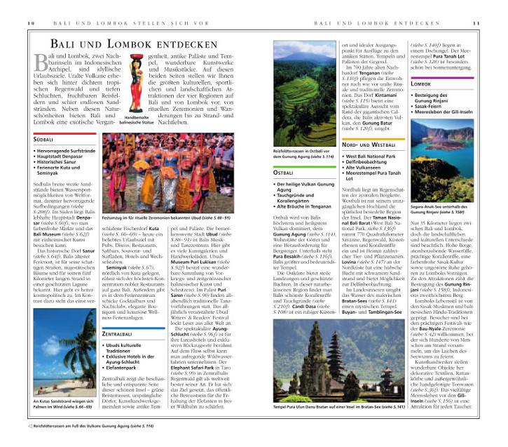 Vis a Vis Bali und Lombok Reiseführer