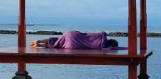 Yoga auf Bali, oder einfach nur Ruhe