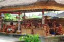 Gamelanorchester für den Barong Tanz auf Bali