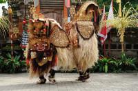 Barong im Barong Tanz auf Bali