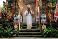 Shiva im Barong Tanz auf Bali