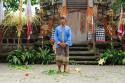 Ende Barong Tanz auf Bali