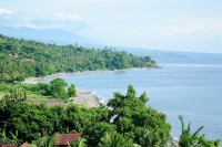 Strand in Amed, Bali