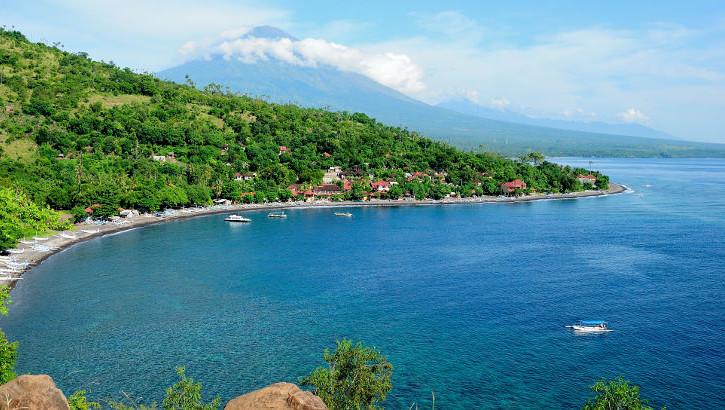 Amed an der Ostküste Balis