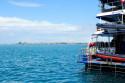 Blick von Benoa Harbour nach Tanjung Benoa