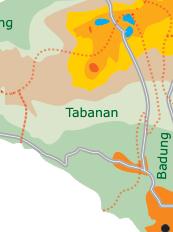 Bezirk Tabanan, Bali
