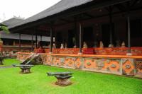 Halle im Bali-Museum in Denpasar, Bali