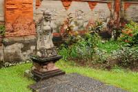 Statue im Bali-Museum in Denpasar, Bali