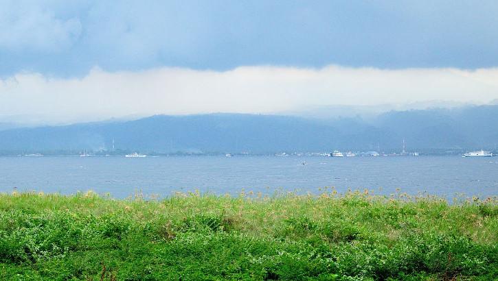 Balistrasse, die Meerenge zwischen Bali und Java