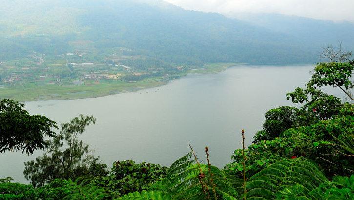 Blick auf den Bujan See, Zentralbali