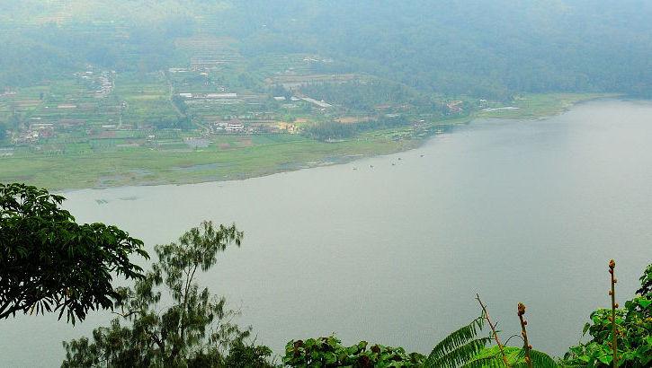 Blick auf den Tamblingansee, Bali
