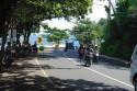Strasse durch Candi Dasa, Bali