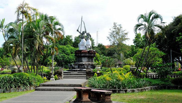 Denpasar, Hauptstadt Balis