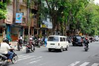 Jalan Hasanuddin in Denpasar, Bali
