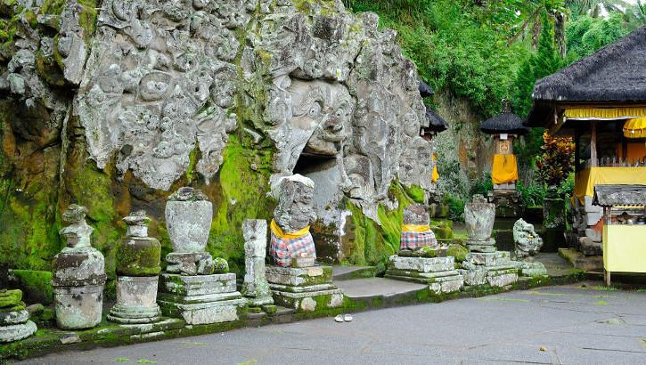Elefantenhöhle Goa Gajah, Bali