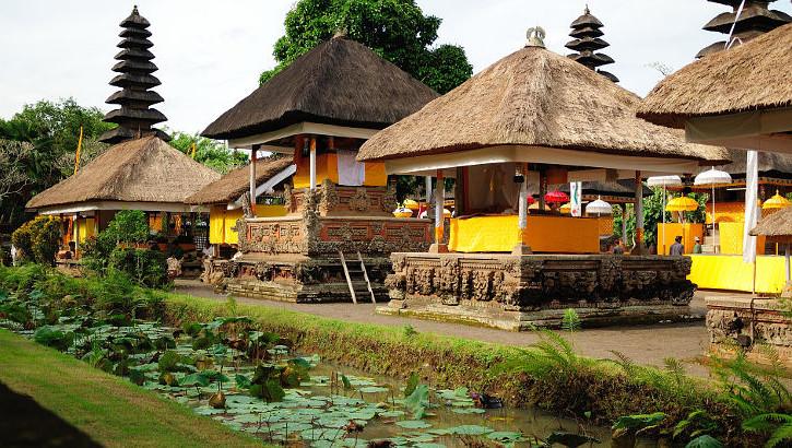 Bildmotiv Mengwi Tempel auf Bali
