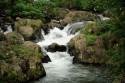 Unterlauf des Wasserfall Git Git, Bali