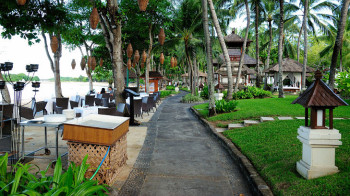 Hotelstrand von Nusa Dua, Bali