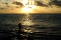Sonnenuntergang in Kuta, Bali