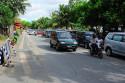 Strassen in Kuta, Bali