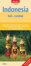 Buchcover von Nelles Map Bali und Lombok