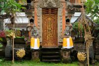 Hauseingang in Nusa Dua, Bali