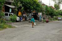 Strasse in Nusa Dua, Bali