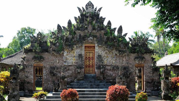 Portal zum Pura Beji, Bali