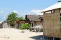 Hütten auf der Pulau Serangan, Bali