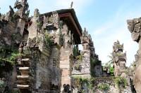 Steinmetzkunst im Pura Beji nähe Singaraja, Bali