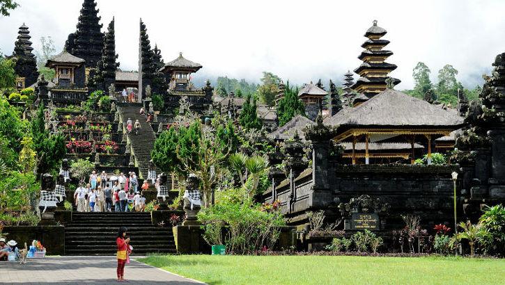 Pura Besakih am Gunung Agung, Bali