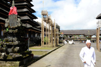 Innenhof des Pura Besakih, Bali