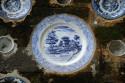 Porzellan im Pura Kehen in Bangli, Bali
