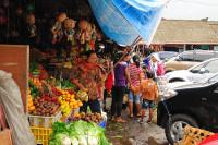 Parkplatz zum Pura Taman Ayun in Mengwi, Bali