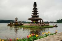 Insel des Pura Ulun Danu Bratan, Bali