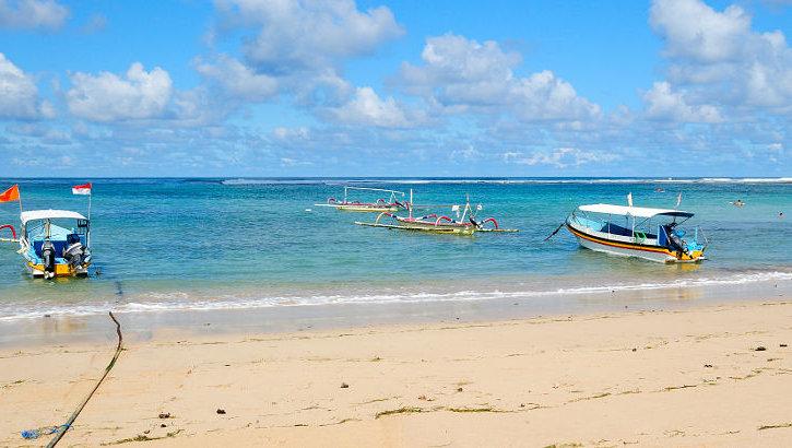 Strand der Nusa Lembongan, Bali