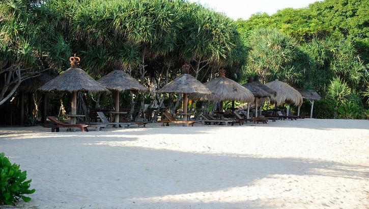 Strand von Nusa Dua, Südbali