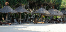 Exotischer Strand im Süden Balis
