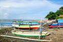 Fischerboot in Tanjung Benoa, Bali