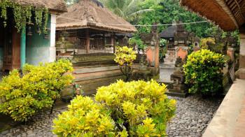 Traditionelles balinesisches Haus